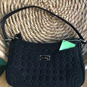 Vera Bradley, so cute black polka dot bag